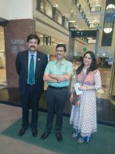 With Airindia CMD Mr Ashwini Lohani